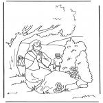 Bibel-malesider - Jesus Getsemane
