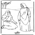 Bibel-malesider - Jesus healing
