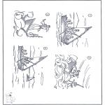 Bibel-malesider - Jesus in the storm