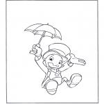Sjove figurer - Jiminy Cricket