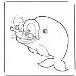 Bibel-malesider - Jonah and the fish
