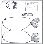 Bibel-malesider - Jonah in the fish