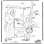 Bibel-malesider - Joseph brings food