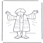 Bibel-malesider - Joseph's coat