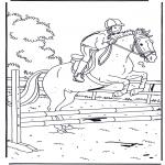 Dyre-malesider - Jumping