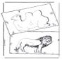 Kamel and lion
