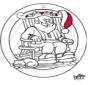 Kerst raamhanger 4