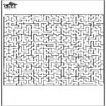 Håndarbejde - Labyrinth 1