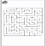 Håndarbejde - Labyrinth 2