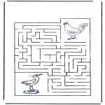 Håndarbejde - Labyrinth birds