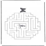 Håndarbejde - Labyrinth butterfly