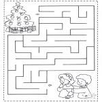 Håndarbejde - Labyrinth Children