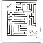 Håndarbejde - Labyrinth dog