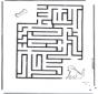 Labyrinth dog