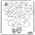 Håndarbejde - Labyrinth Dora