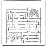Håndarbejde - Labyrinth girl