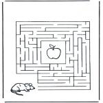 Håndarbejde - Labyrinth mouse