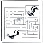 Håndarbejde - Labyrinth skunk