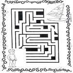 Håndarbejde - Labyrinth surfer