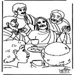 Bibel-malesider - Last supper