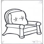 Børne-malesider - Lazy chair