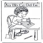 Børne-malesider - Learn to write