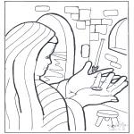 Bibel-malesider - Lesson of the widow's mite
