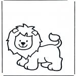 Dyre-malesider - Lion 1
