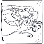 Sjove figurer - Lion King 2