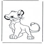 Sjove figurer - Lion King 5