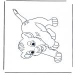 Sjove figurer - Lion King Simba