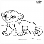 Dyre-malesider - Little baby lion