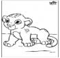 Little baby lion
