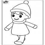 Børne-malesider - Little boy 2