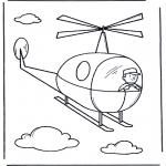 Børne-malesider - Little helicopter