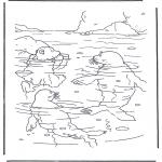 Børne-malesider - Little Polar Bear 3
