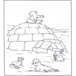 Børne-malesider - Little Polar Bear 5