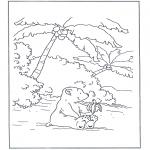 Børne-malesider - Little Polar Bear 8