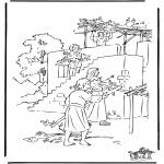 Bibel-malesider - Loofhuttenfeest
