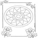 Mandala-malesider - Mandala 10