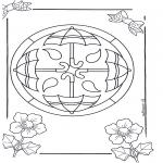Mandala-malesider - Mandala 14