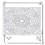 Mandala-malesider - Mandala 15