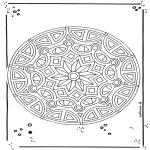 Mandala-malesider - Mandala 18