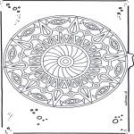 Mandala-malesider - Mandala 20