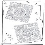 Mandala-malesider - Mandala 24