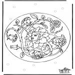 Mandala-malesider - Mandala 26