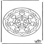 Mandala-malesider - Mandala 36
