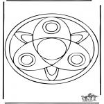 Mandala-malesider - Mandala 37