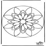 Mandala-malesider - Mandala 38