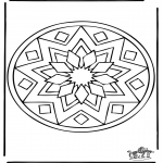 Mandala-malesider - Mandala 39